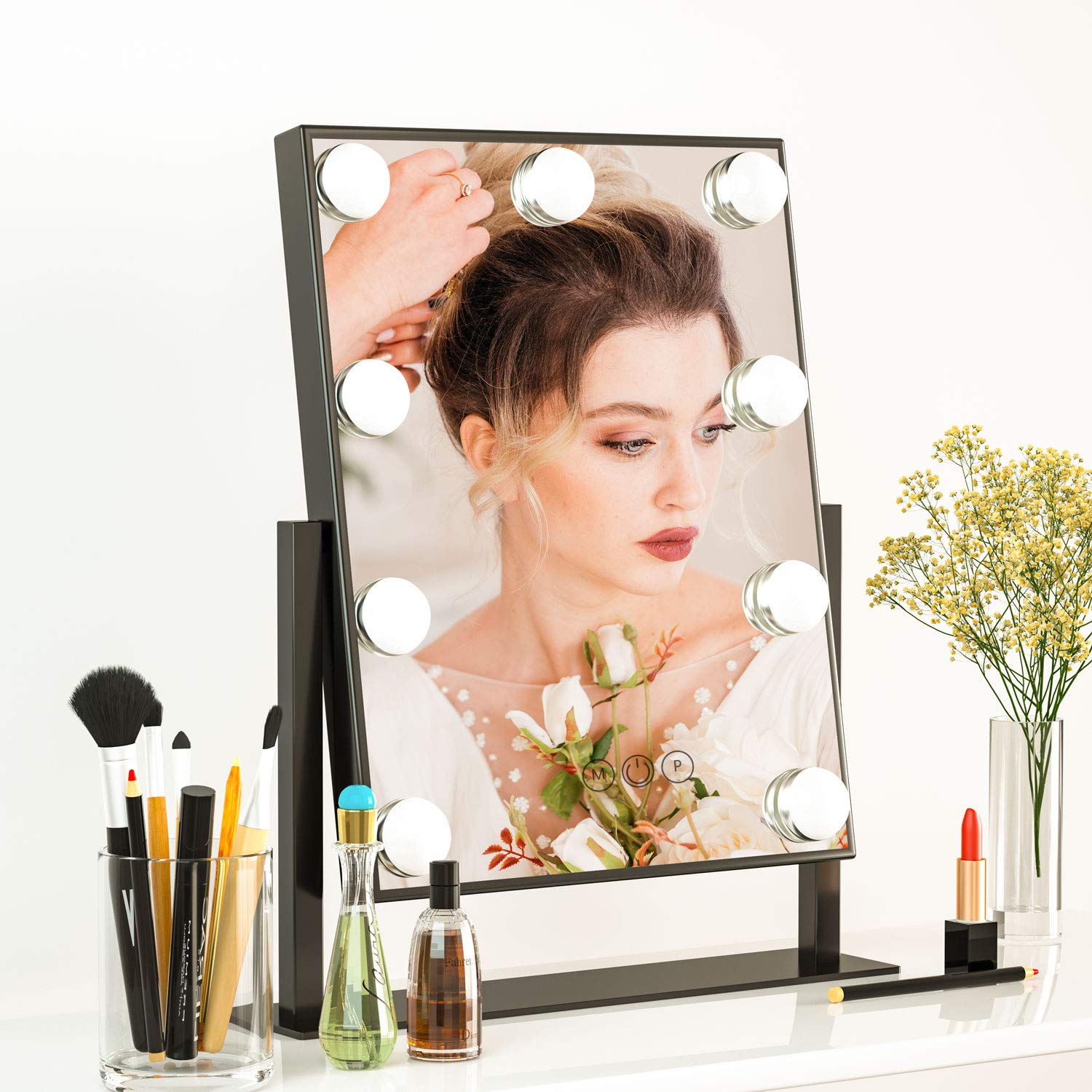 Lighted Hollywood Vanity Mirror