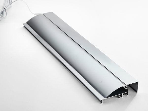 Surface mounted profile
